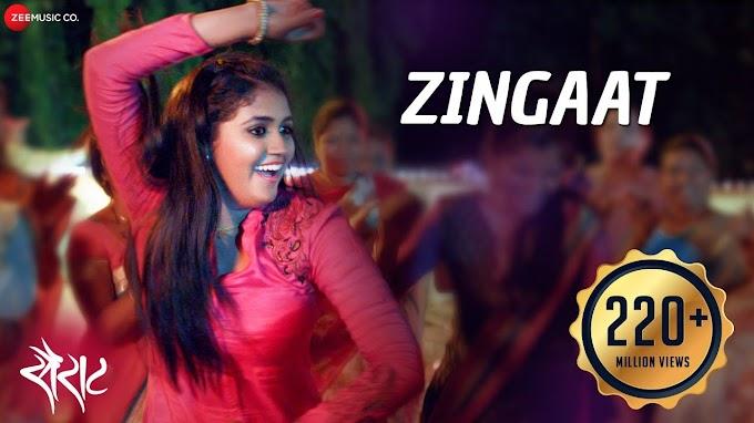 Zingat Lyrics – Sairat – Marathi Song – Ajay-Atul – Nagraj Manjule