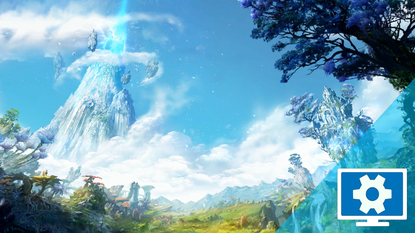 AION 5 0 Login Screen Clean Wallpaper Engine Free Download