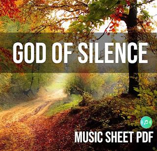 God Of Silence Music Sheet SATB PDFfile