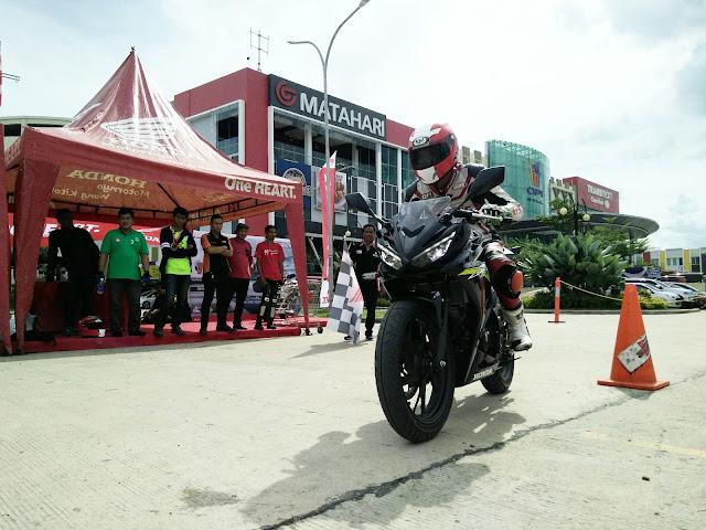Belajar Balap, Honda Community Ikut All New Honda CBR150R Track Day
