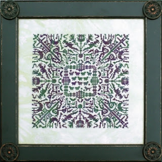 Reflections of Scotland cross stitch chart by Ink Circles