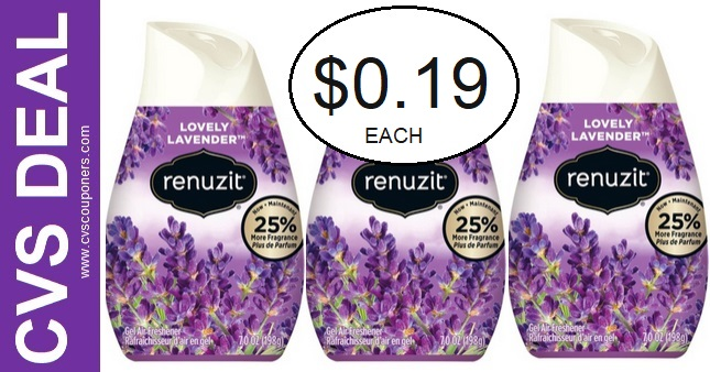 Renuzit Gel Air Freshener CVS Deal 12-20-12-26