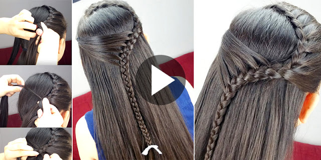 How To Create Quick And Easy Mermaid Hairstyle, See Tutorial