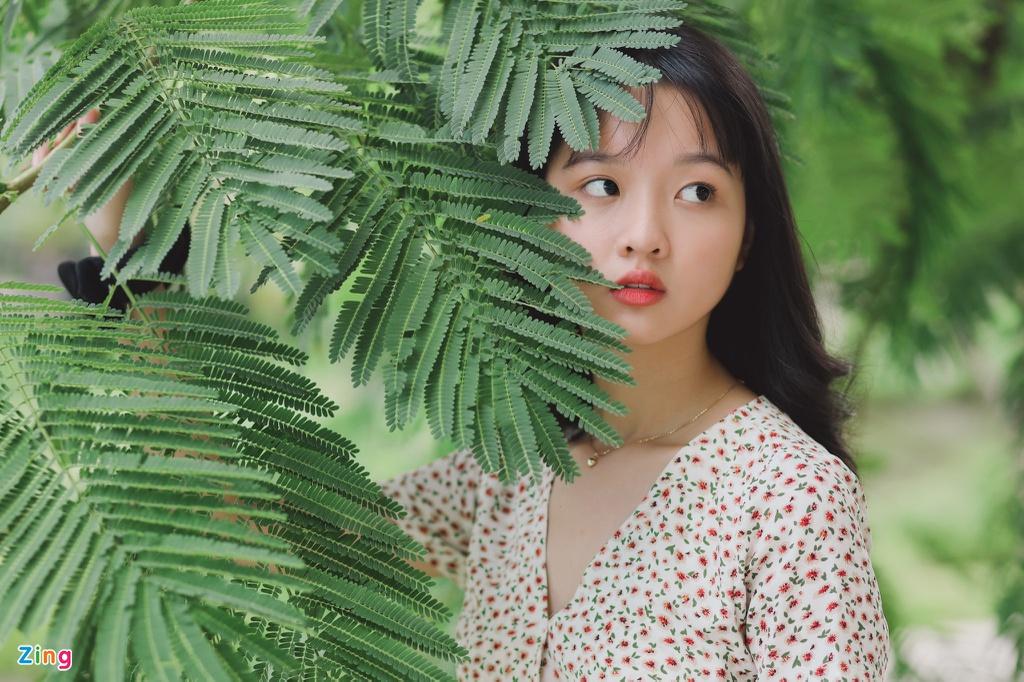 Ảnh đời thường của Lâm Thanh Mỹ ở tuổi 15