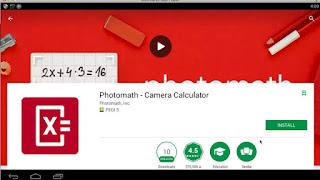 Photomath on PC