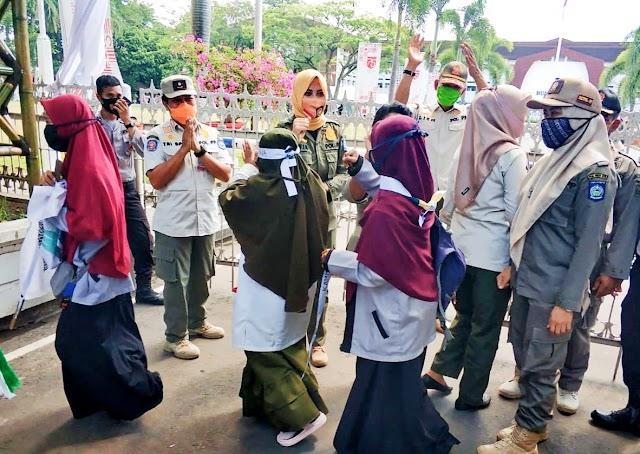 Insiden Kericuhan Saat Unras, Kasat Pol PP NTB Kembali Sampaikan Permintaan Maaf