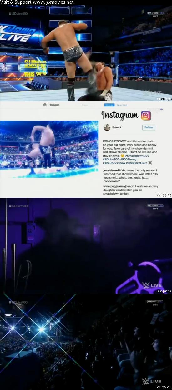 WWE Smackdown Live 15 Nov 2016 HDTV 480p