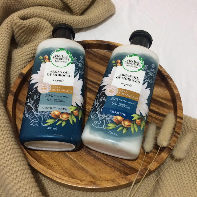 Earth day deals with P&G's Herbal essence products at Shopee