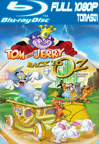 Tom y Jerry: Regreso al mundo de Oz (2016) BDRip 1080p