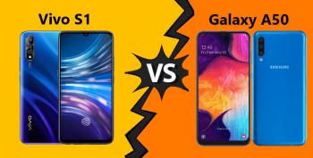 Perbandingan Vivo S1 dan Samsung Galaxy A50