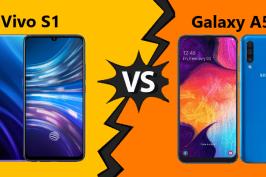 ADU Spesifikasi Vivo S1 vs Samsung Galaxy A50, Ponsel 3 Jutaan