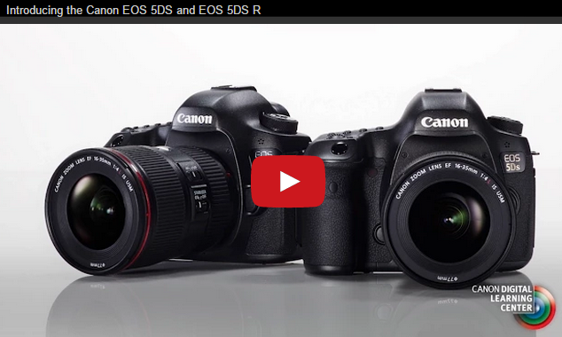 Introducing the Canon EOS 5DS and EOS 5DS R - Canon USA Video