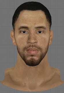 NBA 2K13 Tayshaun Prince Cyberface Patch