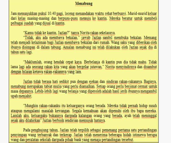 Contoh Mengarang Cerita Contoh Karangan Masa Lampau Past Experience Penulisan Bahasa Melayu Cerita