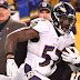 Baltimore Ravens linebacker C.J. Mosley carted off with bone bruise, return doubtful