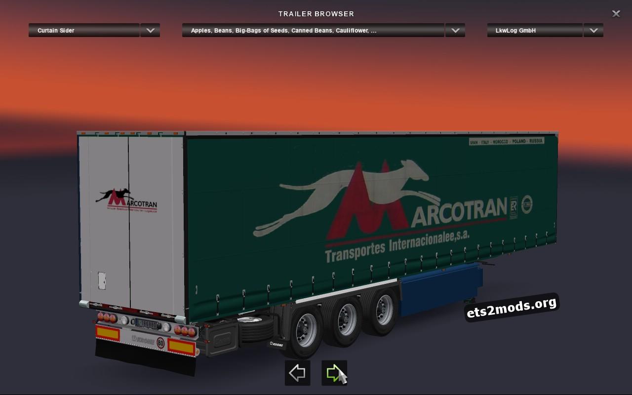 Marcotran Krone Trailer
