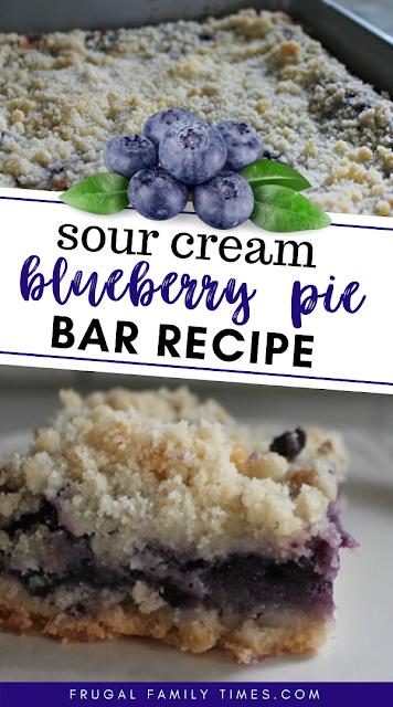 blueberry sour cream bars