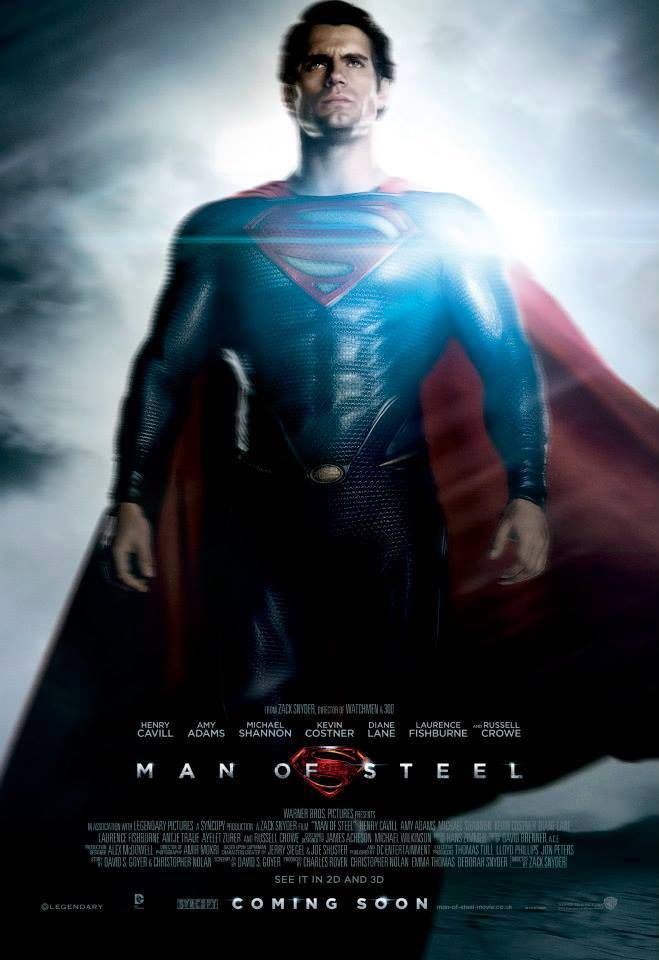 Superman Man of Steel Character Poster