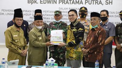 Bupati Harris Terima Kunjungan DPD RI,Teknopark Potensi Pelalawan Perlu Diperhitungkan Pemerintah Pusat