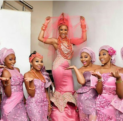 #BAAD2017 : Here comes the stunningly beautiful bride and her ladies (Photos)