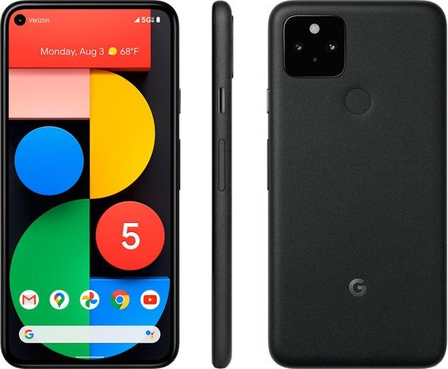 موبايل Google Pixel 5 الجيل الخامس بسعر 16999 جنيه على نون مصر