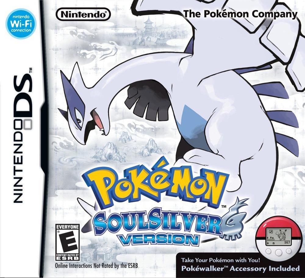descargar Pokémon: SoulSilver Version nintendo ds 1 link mediafire y mega mf mg