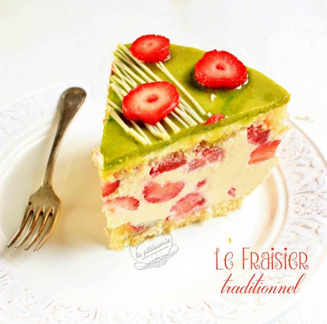 fraisier recette traditionnelle