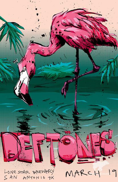 GoreTex concert poster/art print by BLUE731.