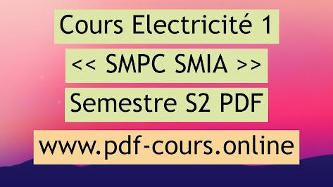 Electricité s2 smpc exercices corrigés pdf