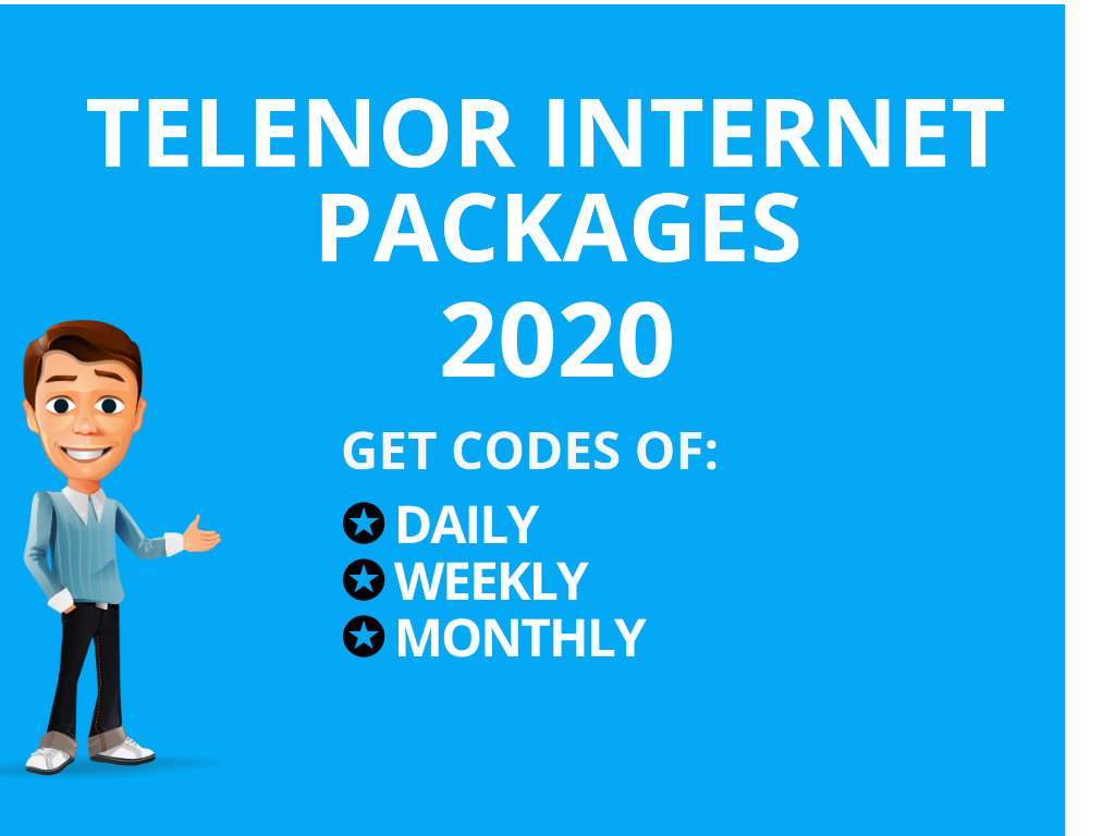 Telenor Daily Internet Packages Telenor 3 Day Internet Packages Weekly Internet Package Monthly Internet Package Telenor Social Facebook Whatsapp imo codes free