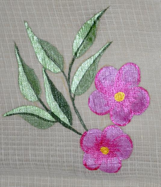 Fabric Painting Designs Sarees