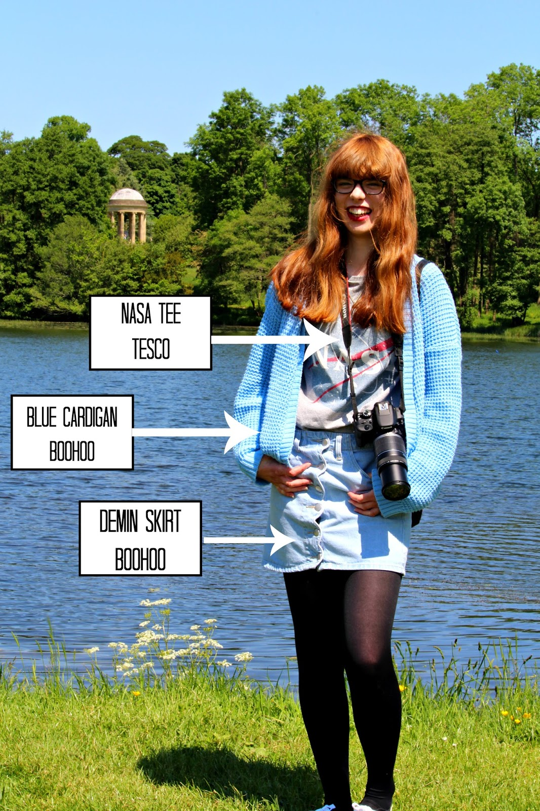NASA Tee men's clothing Topshop fashion blogger