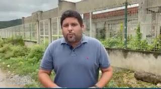 O estelionato em Guarabira não parou e nem vai parar:  Dispara Renato Meireles ao visitar obra de creche panada no Alto da Boa vista em Guarabira