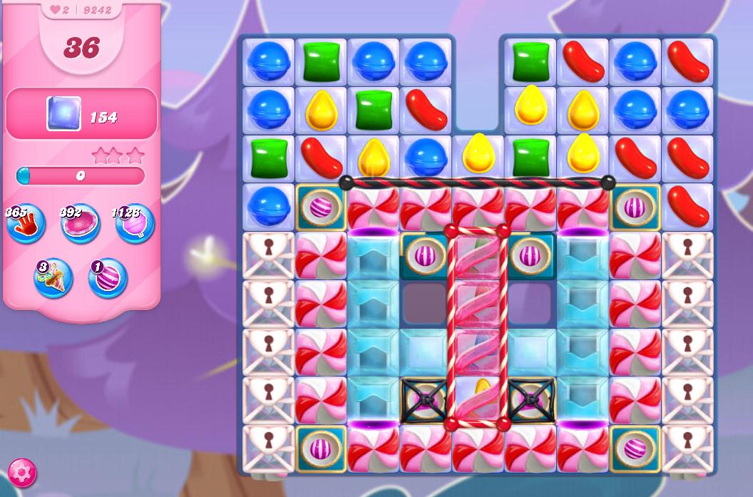 Candy Crush Saga level 9242