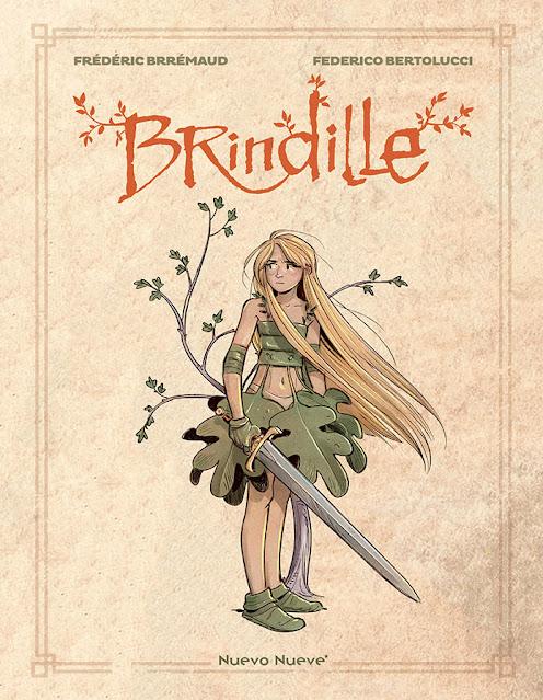 Review del cómic Brindille de Federico Bertolucci y Frédéric Brrémaud - Nuevo Nueve
