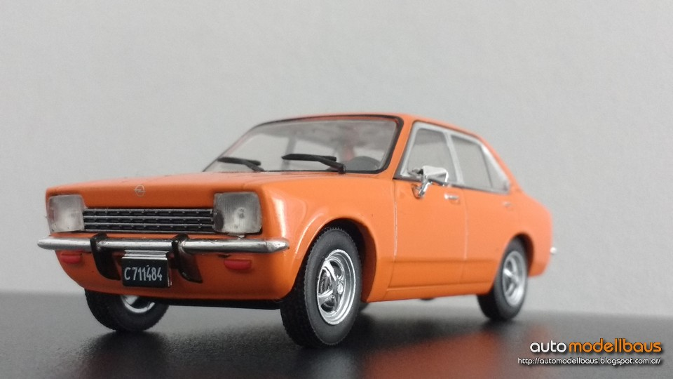 Auto Modellbaus Opel K 180 1974 Autos Inolvidables Argentinos