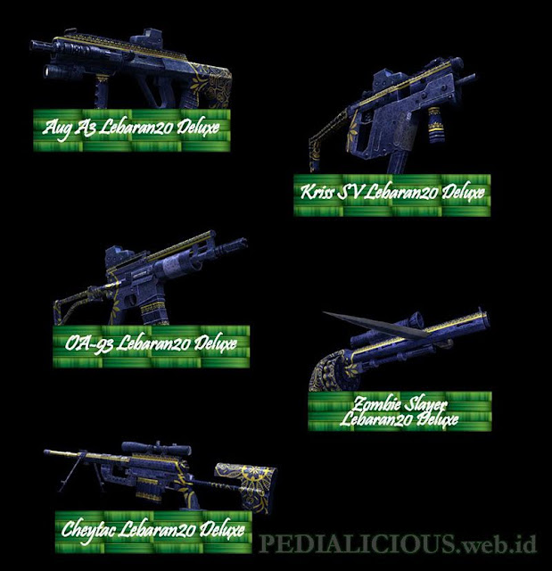 Harga & Statistik Seri Lebaran20 Deluxe Senjata Point Blank