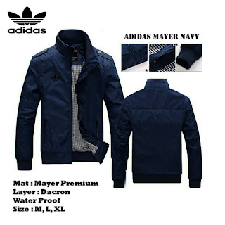 Jaket Waterproof Adidas Mayer Murah