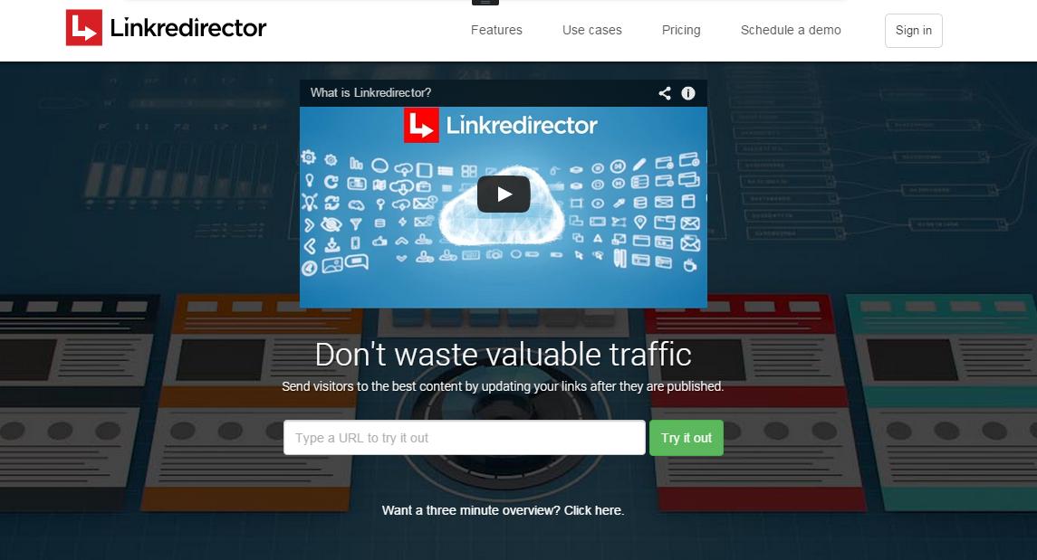 LinkRedirector URL shortener