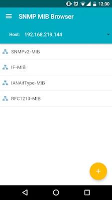 Screenshot MIB Browser