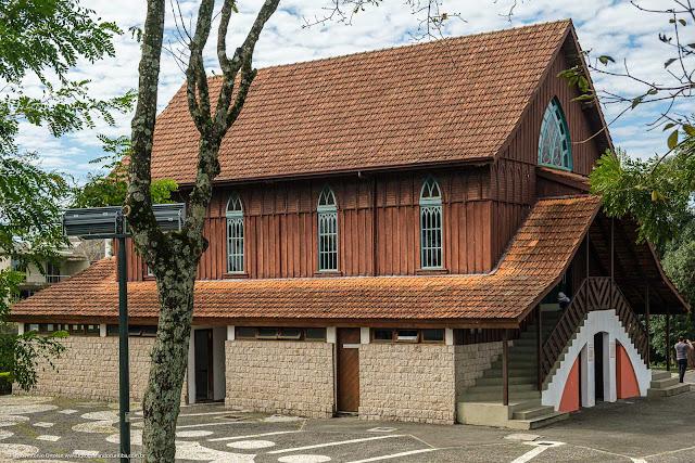 Perfil do Oratório Bach no Bosque Alemão