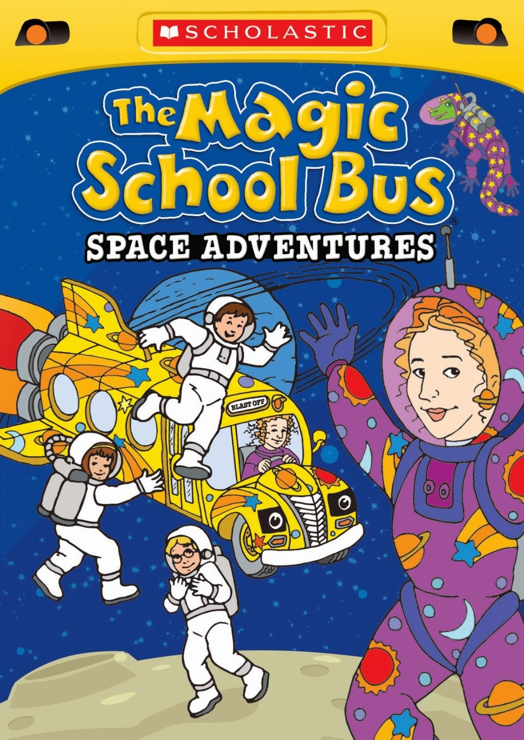 Hanging Off The Wire The Magic School Bus Space Adventures