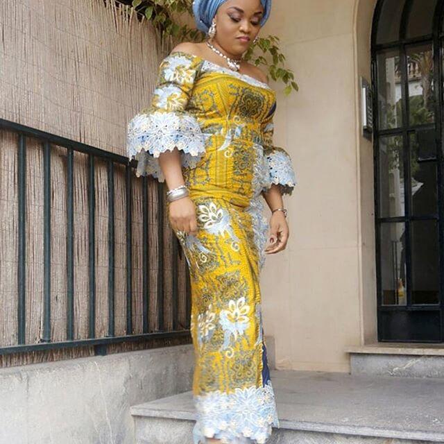 Beautiful Ankara Long Gown Designs 2018 for Stylish Ladies ...