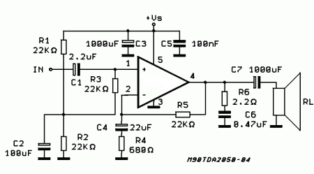 how to make a low cost audio amplifier | Tech and circuits
