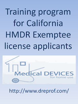 Home medical device retail (HMDR) Exemptee license training course | Learn more, and buy