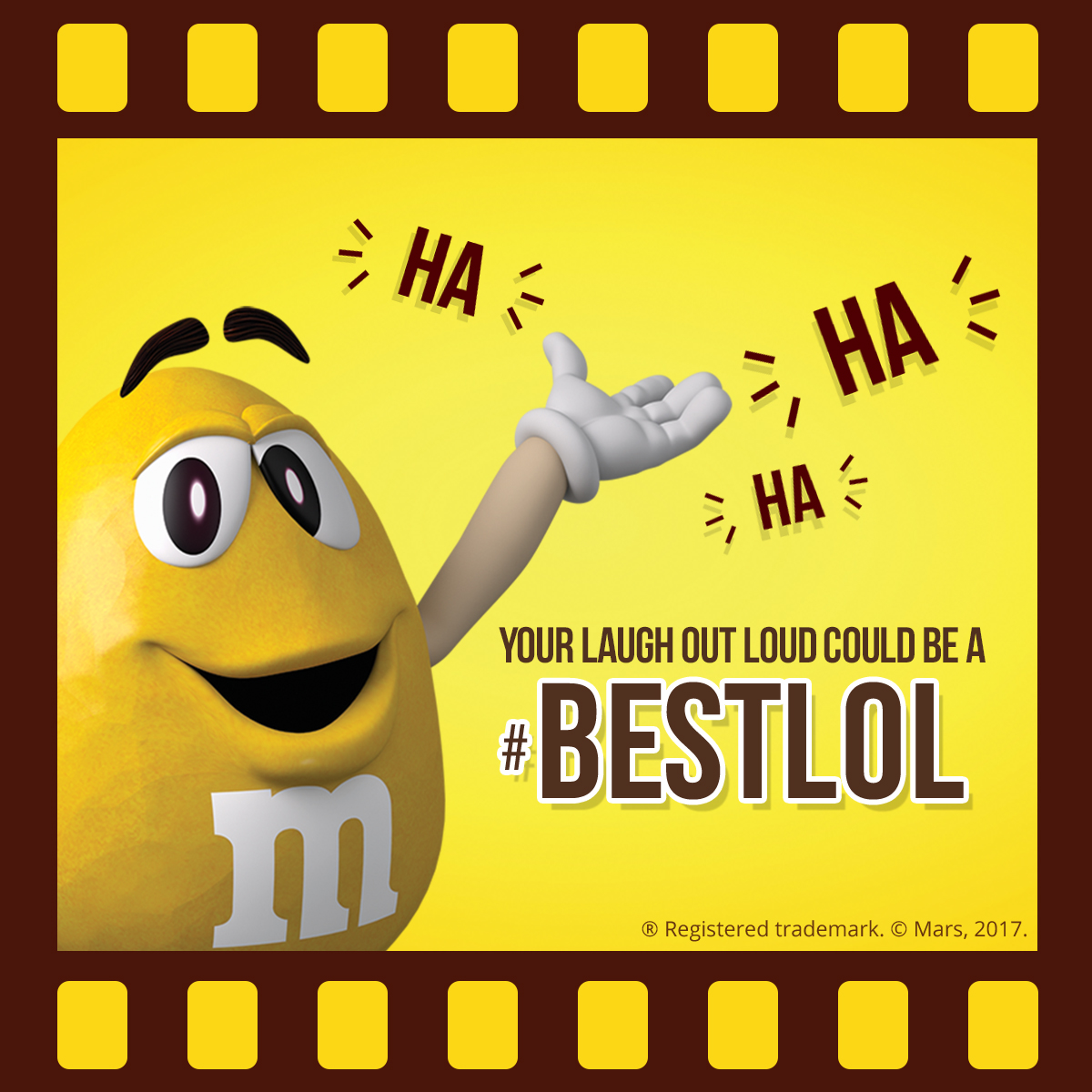 M&M'S® Yellow Screentime Awards 2017
