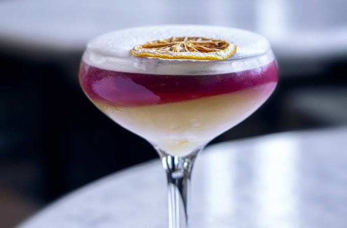 Mulled New York Sour
