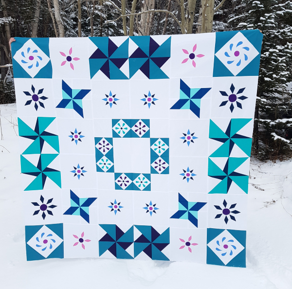 Spring Meadow quilt | DevotedQuilter.com