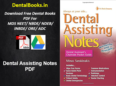 Dental Assisting Notes PDF