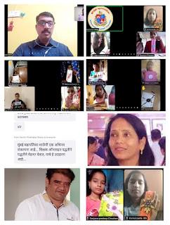 #JaunpurLive : मनपा बच्चों ने ऑनलाइन सीखा राखी बनाने की कला